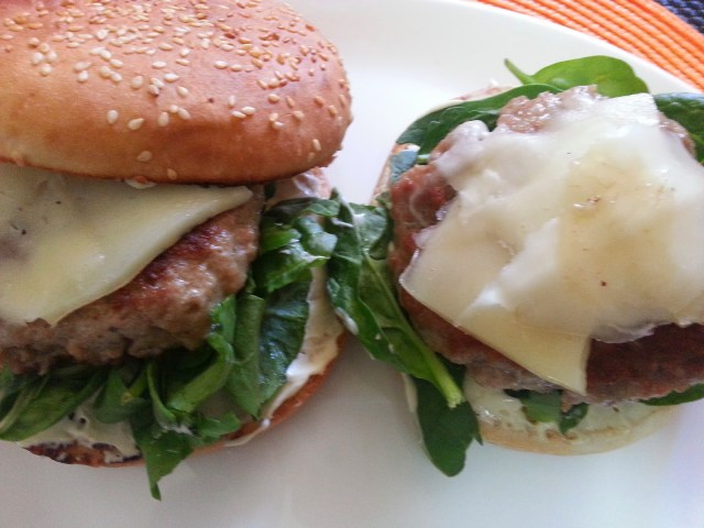 hamburguesas caseras