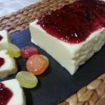 Tarta fria de queso sin horno