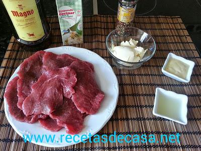 Escalopines de ternera con salsa pimienta la cocina de pedro y yolanda - Salsa para ternera a la plancha ...