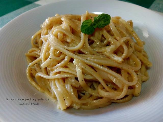 Tallarines con avellanas y hierbabuena la cocina de for Cocina de pedro y yolanda