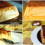 Cuatro recetas de flanes diferentes sabores