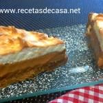 Tarta de dulce de leche con merengue