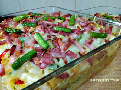 Macarrones gratinados la cocina de pedro y yolanda for La cocina de pedro y yolanda