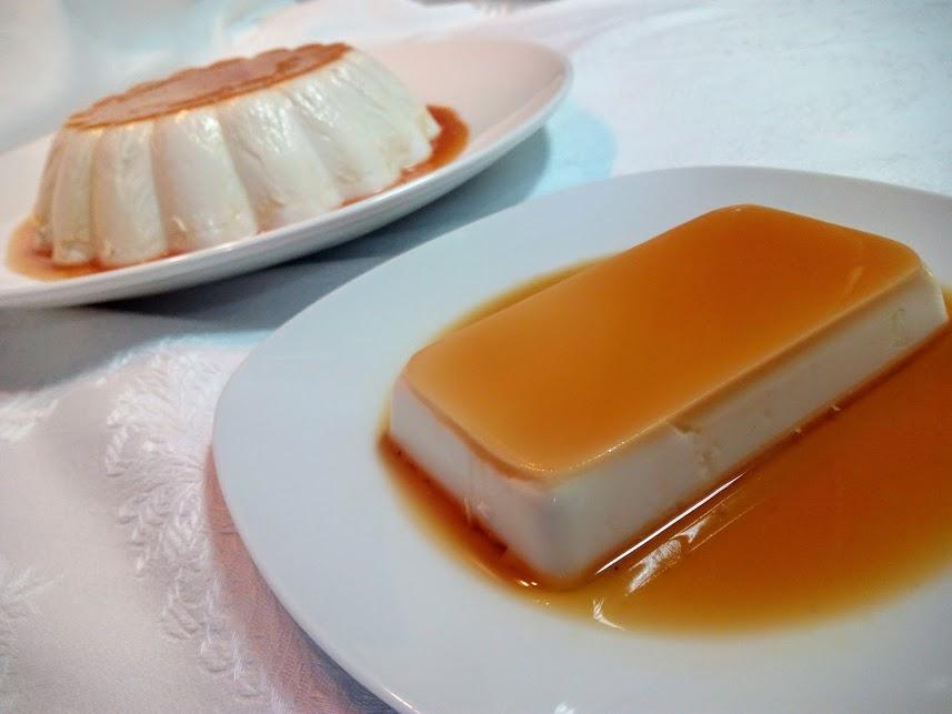 Flan de coco la cocina de pedro y yolanda - Flan de huevo sin horno ni bano maria ...
