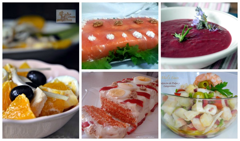 Recetas fr as para verano la cocina de pedro y yolanda for Cenas frias canal cocina