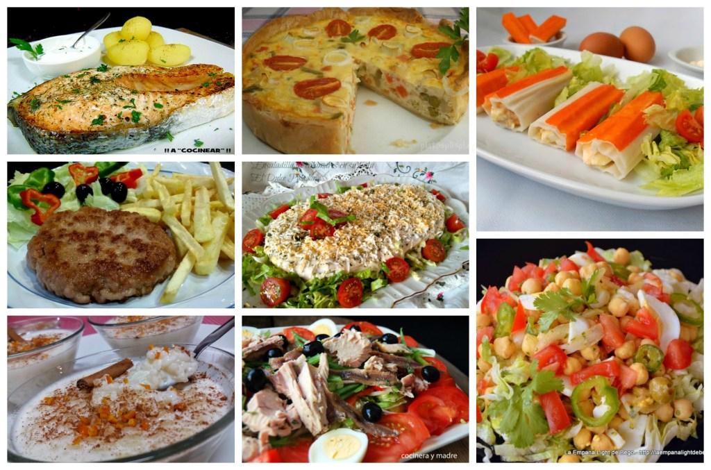 menú de verano