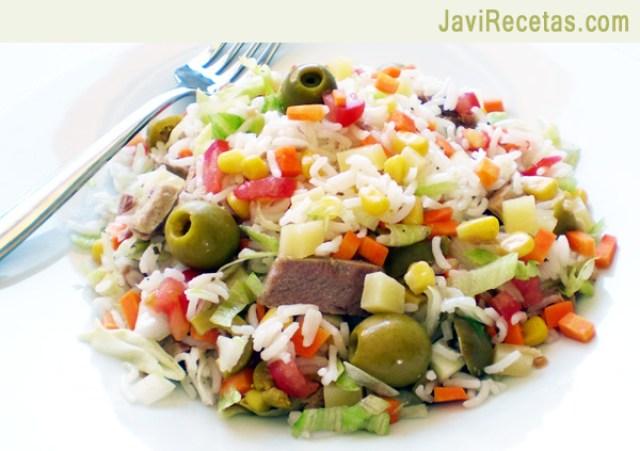 recetas de ensalada de arroz