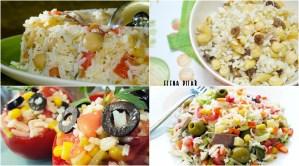 recetas de ensaladas de arroz