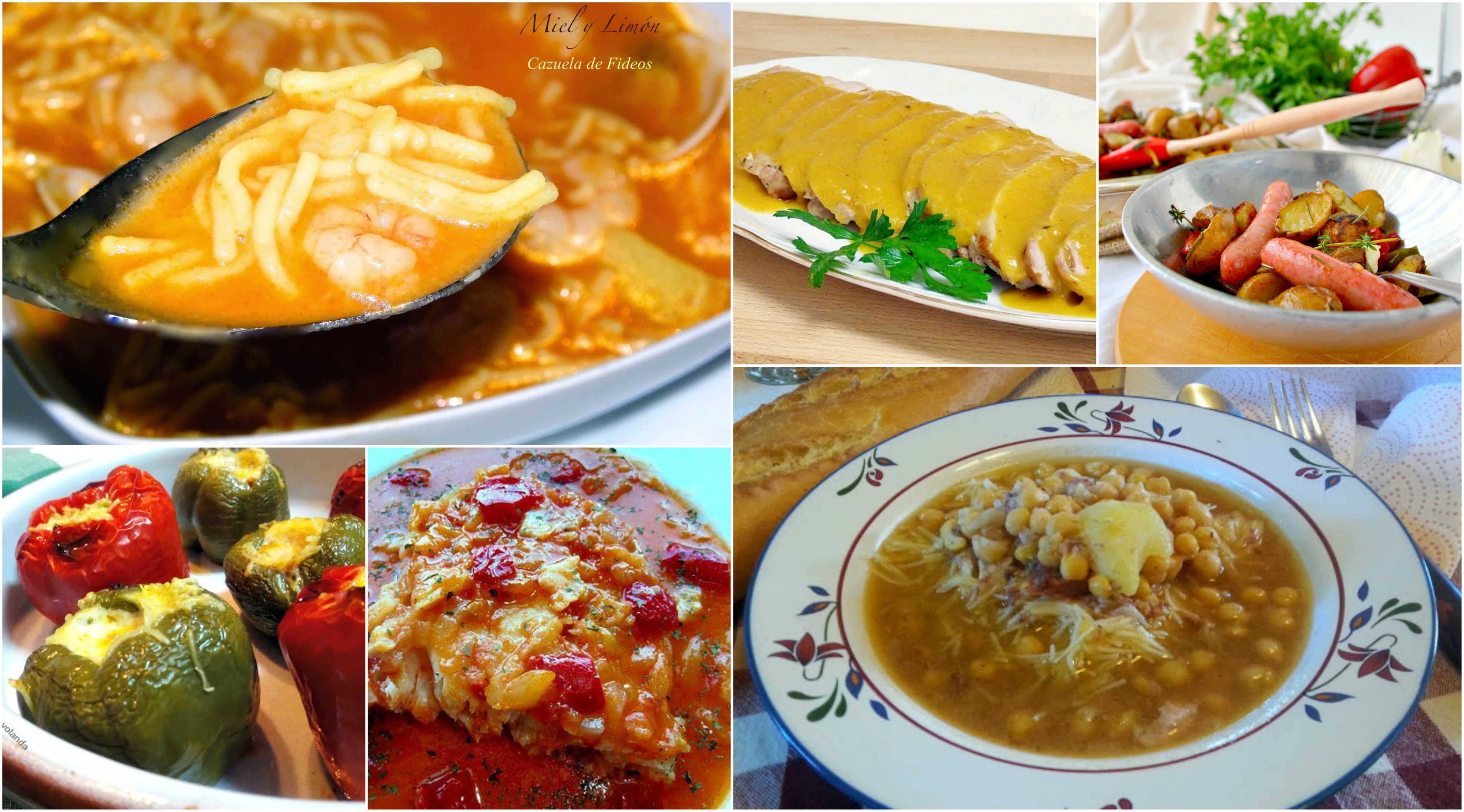 Men semanal 37 siete d as siete platos la cocina de for Platos de cocina