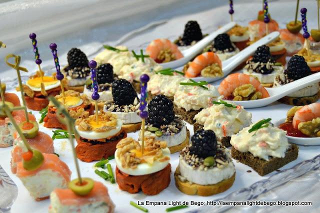 Canap s variados para fiestas la cocina de pedro y yolanda for Cocina de pedro y yolanda