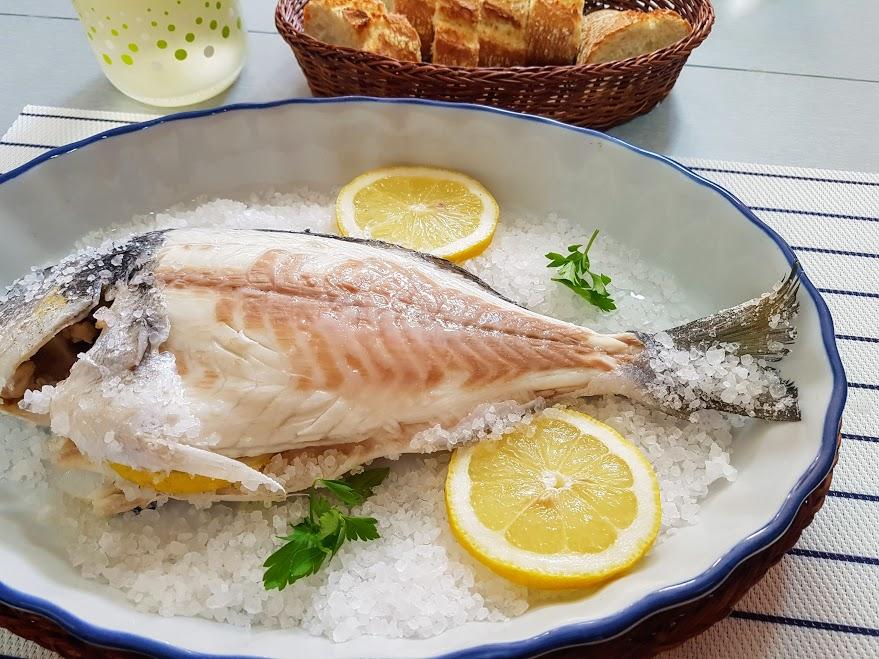 Dorada a la sal la cocina de pedro y yolanda for Cocina de pedro y yolanda