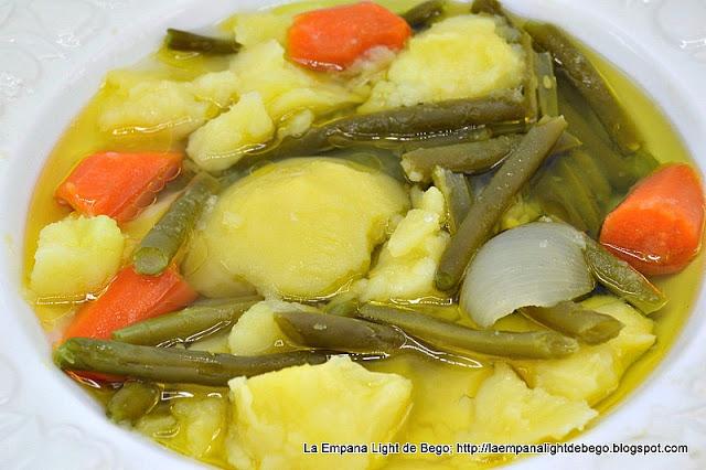 menú semanal hervido de verduras