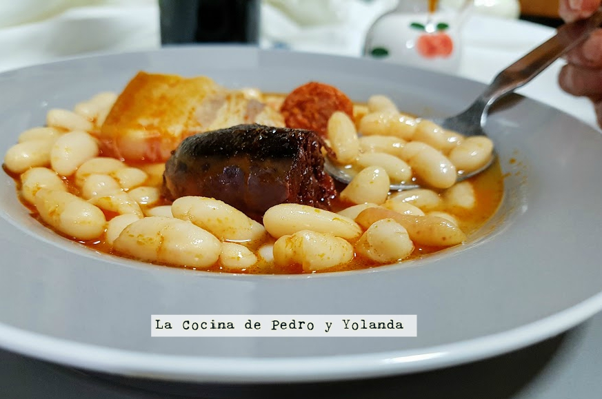 Fabada asturiana la cocina de pedro y yolanda for Cocina de pedro y yolanda