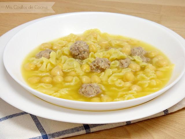 menú semanal sopa de caldo