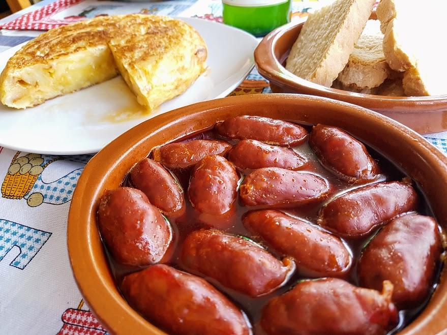 Choricillos a la sidra la cocina de pedro y yolanda for La cocina de pedro y yolanda