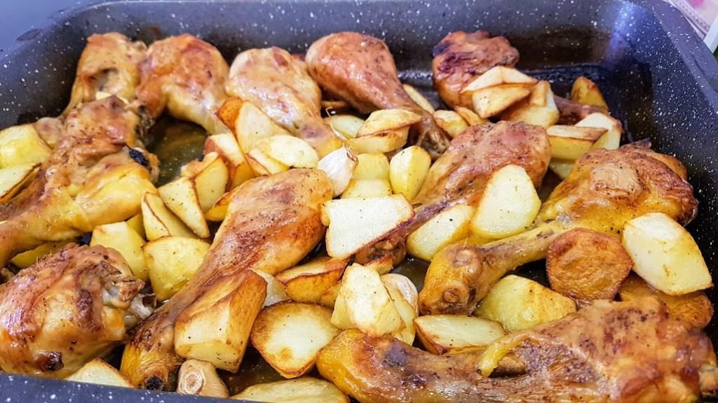 jamoncitos de pollo tiernos y jugosos