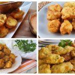 4 recetas de buñuelos de bacalao