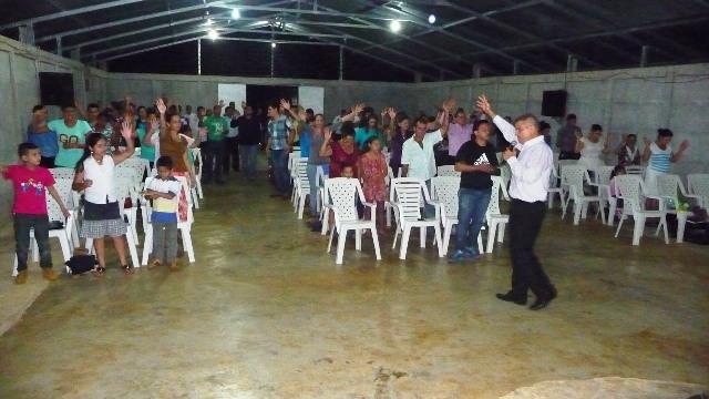 Iglesia cristiana  en Pital de San Carlos
