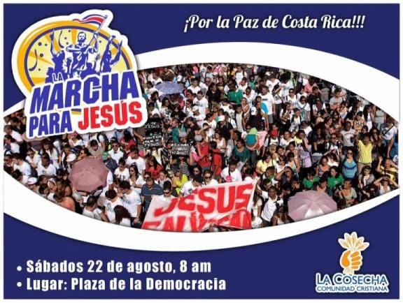 Marcha para Jesús - 22 Agosto 2015 - 8:00 A.M.