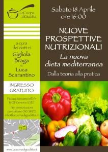 """Seminario gratuito """"Nuove prospettive nutrizionali e dieta mediterranea"""""""
