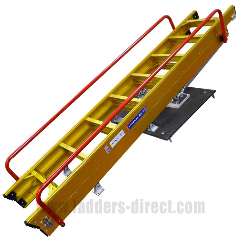 Clow Heavy Duty Sliding Loft Ladder Ladders Directcom