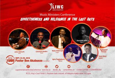 Lagos International Worship Conference, Lagos, Nigeria