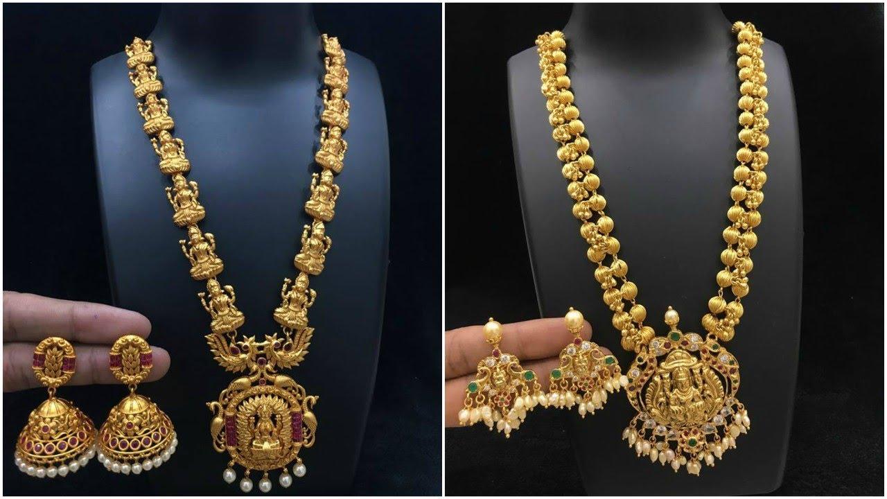 Trendy Gold Long Haram Design