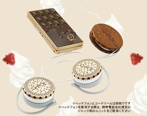 NTT Docomo SH-04b The Chocolate Phone by Q-Pot (10)