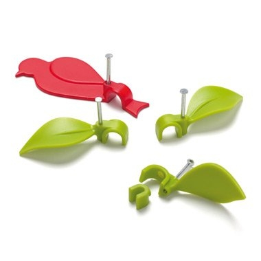Clip Your Wires With Leaves and Birds