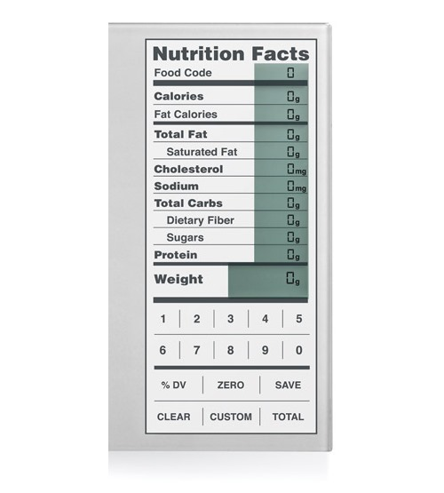 Perfect Portions Digital Food Scale and Nutrition Calculator