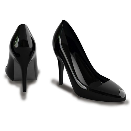 Stiletto Portable Speakers Shaped Like High Heel Shoes
