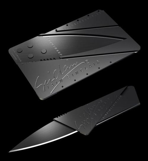 Iain Sinclair CardSharp Folding Pocket Knife