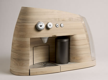 Linje Wooden Mountains Inspired Expresso Maker