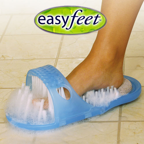 Easy Feet Cleaning Slippers