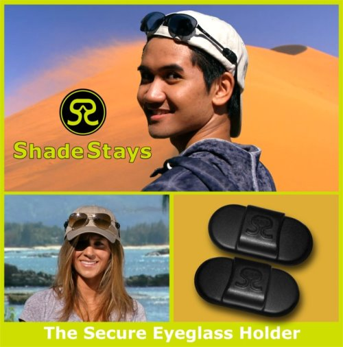 ShadeStays Holds Your Glasses on the Hat (1)