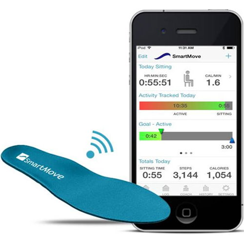 SmartMove Insoles for Wireless Activity Tracking