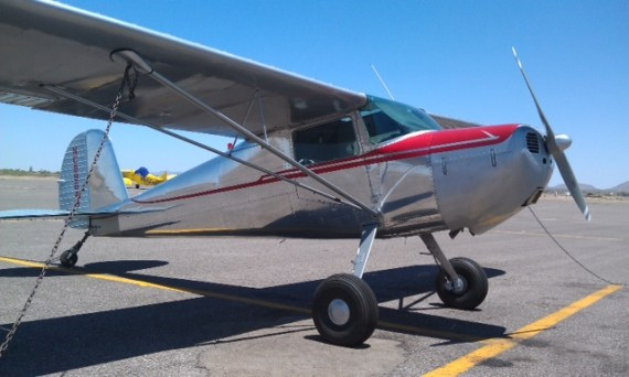 Terri Minter Cessna 120