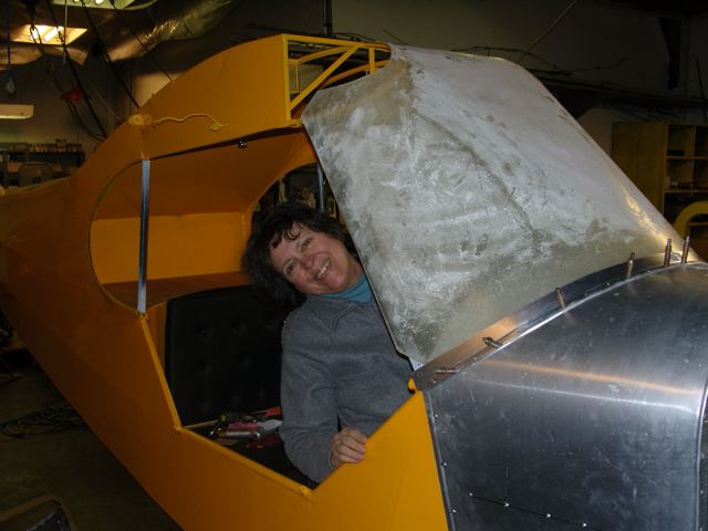 Project Update from Linda Melhoff: J3 Cub