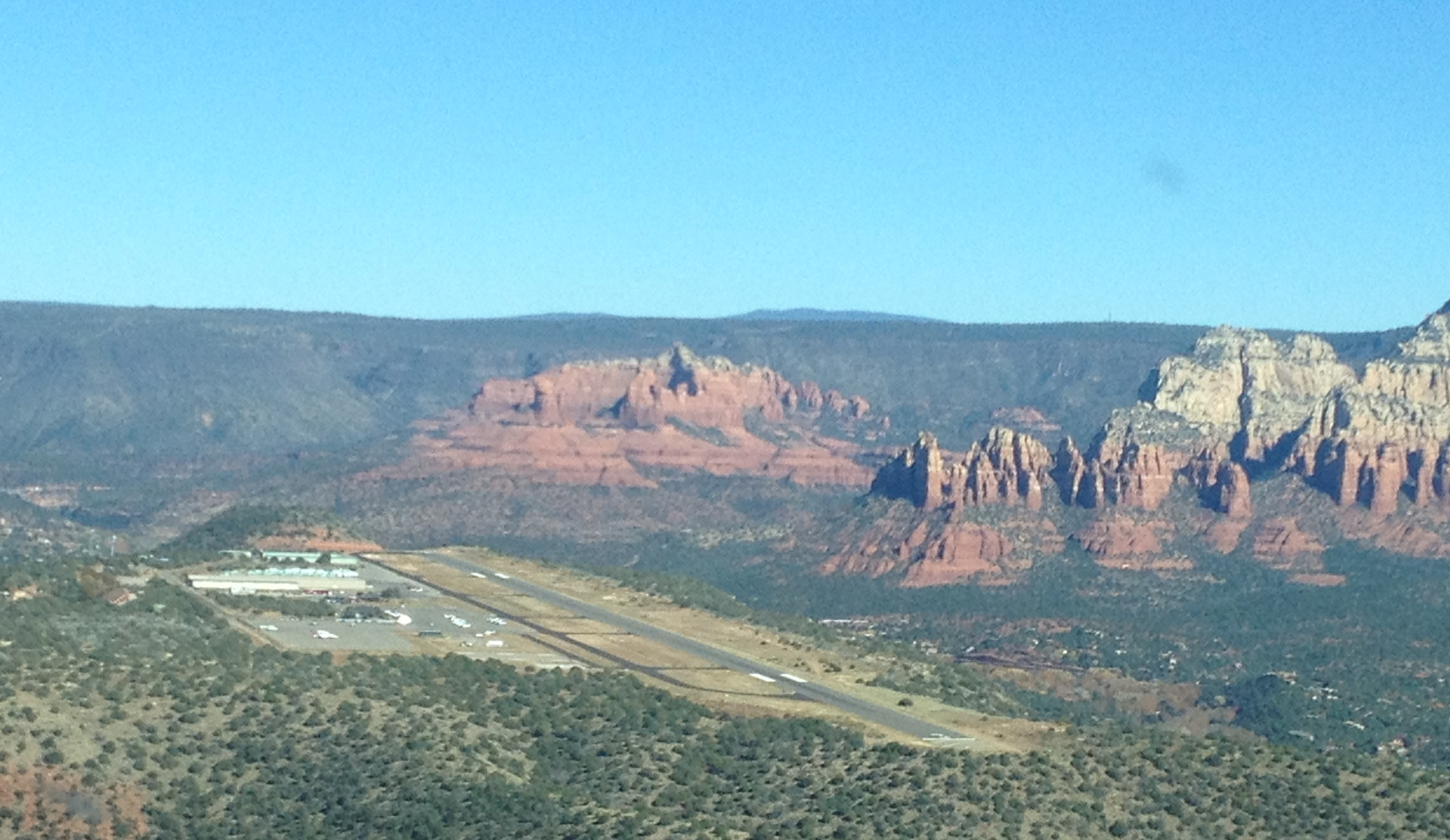 Tucson to Sedona – What a flight!
