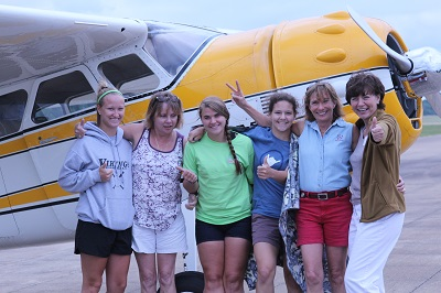 2014 Lady Taildraggers Fly-in Itinerary