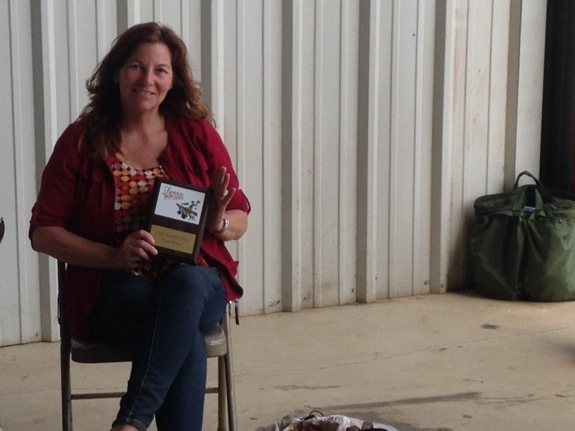 Tracy Salmi a winner at Llano, TX Competition!