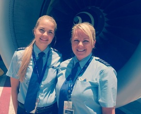 BlueTales, JetBlue, Sister Sister! A Pair of Siblings share the Cockpit