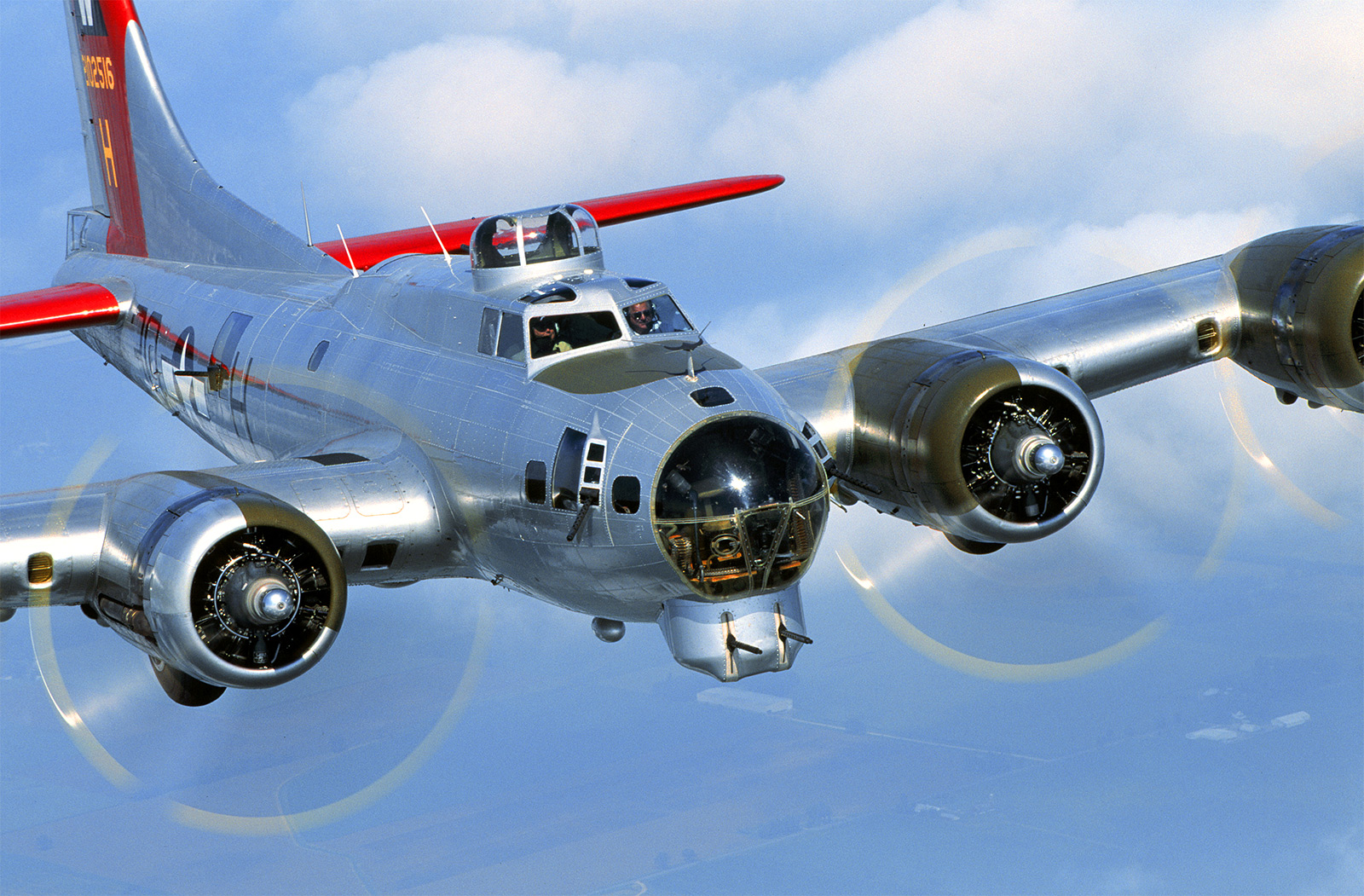 Aluminum Overcast: B-17 flight at Lawrenceville, GA, Oct 2014