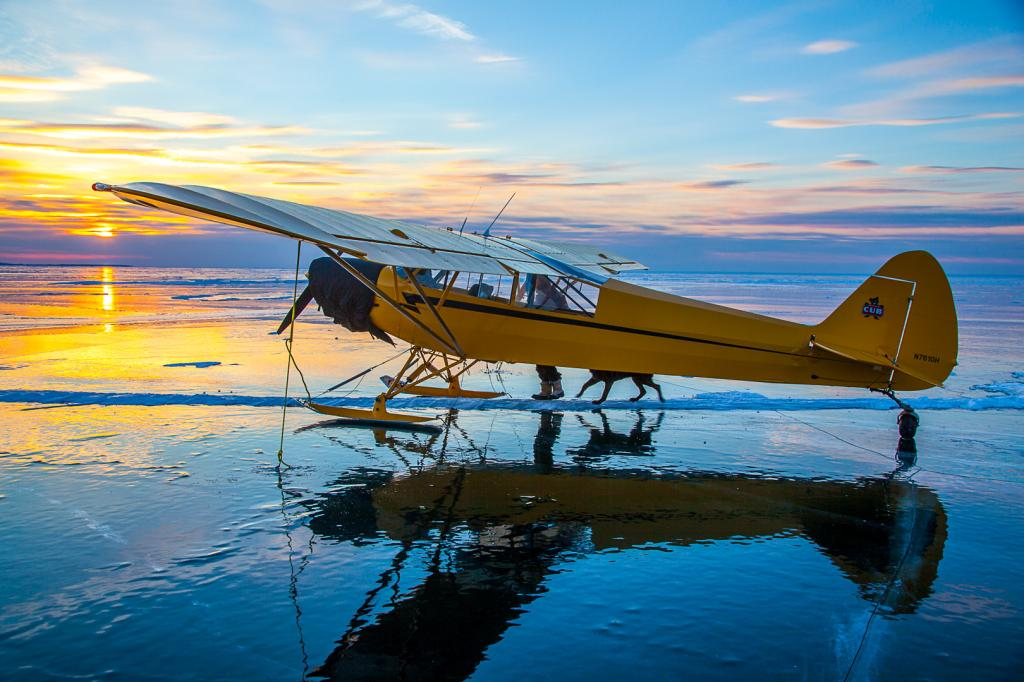 "Lake Superior's Frozen ""Apostle Islands National Lakeshore"""