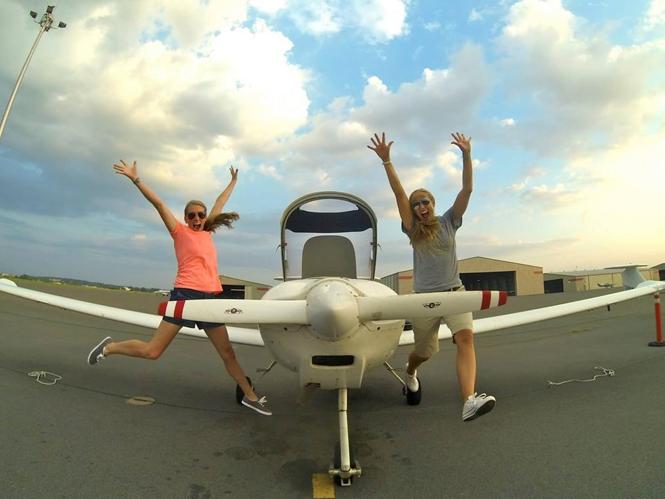 Magee & Peeps Go Flying – the funnest way to meet a LLT Scholarship Winner!