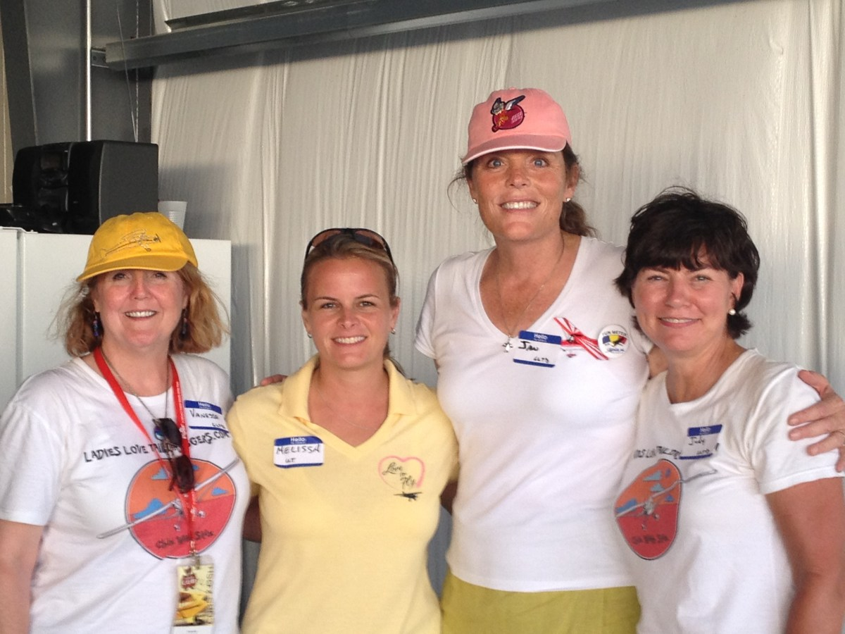 The Plan for Ladies Who Love Taildraggers at OSH!