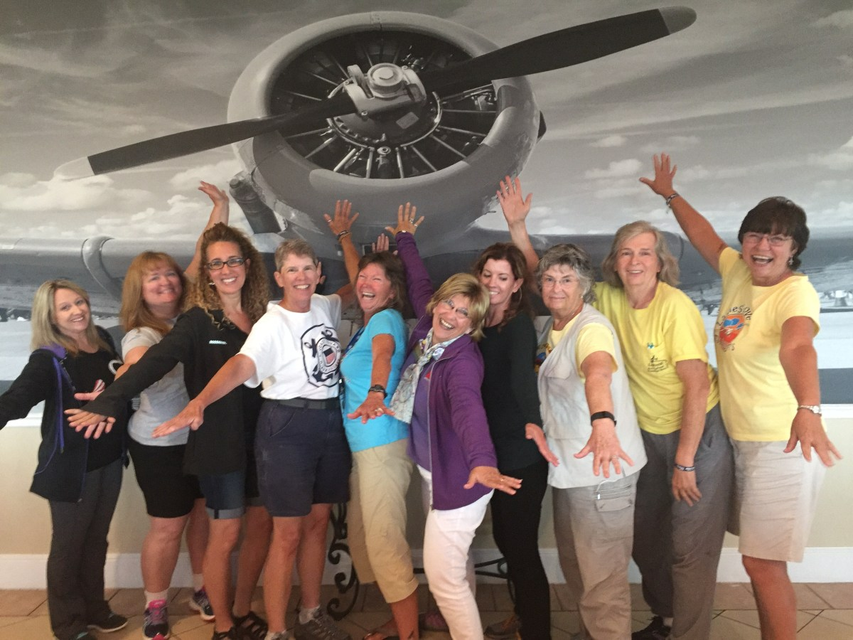 The ladies agree, it was a Fun Friday at AirVenture!!