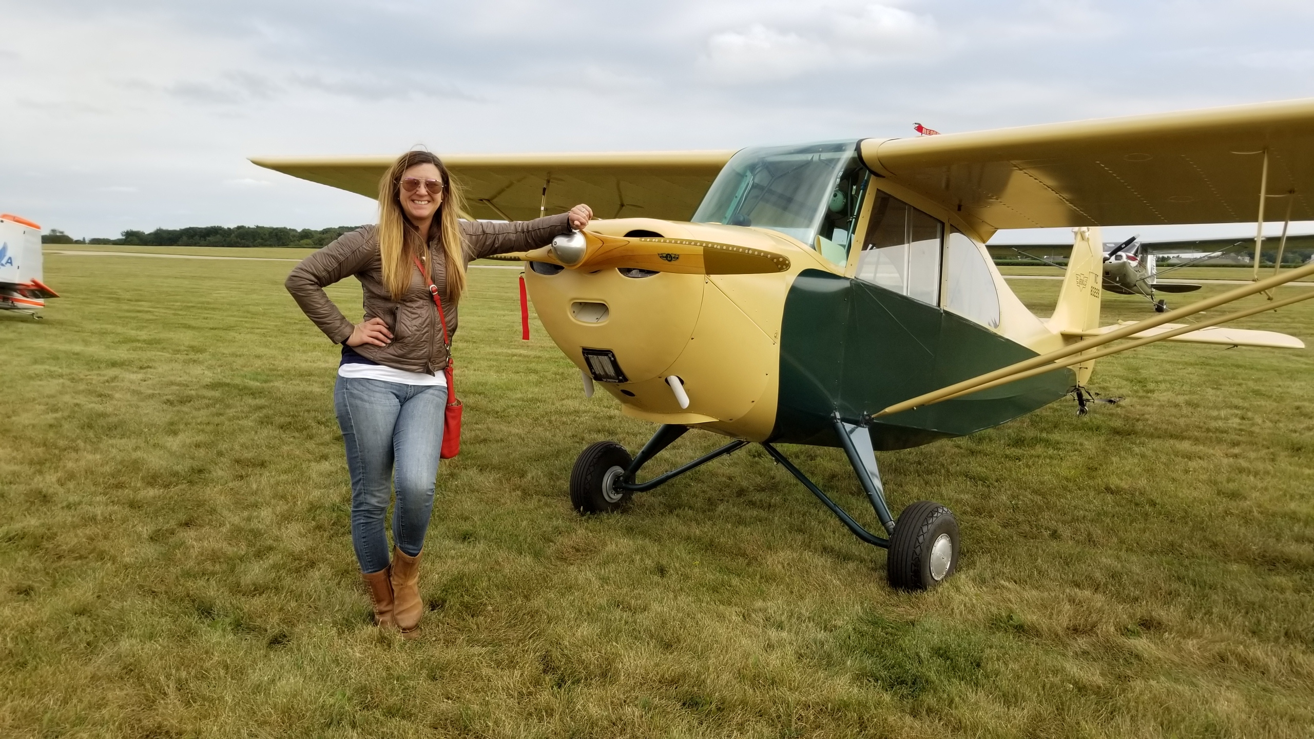 Friday at the LadiesLoveTaildraggers C77 Fly-in!