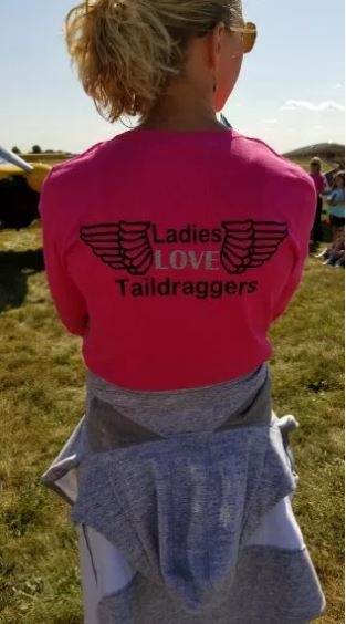 Thank you for getting a Lady Taildragger Pilot to C77