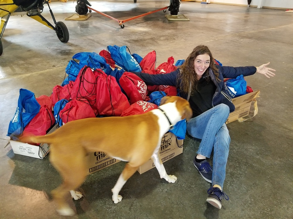 WooHoo, Judy & Kate FLY to LadiesLoveTaildraggers Fly-in!